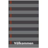Classic Print Linje, grå
